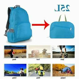 25L Foldable Outdoor Travel Backpack Women Men Hiking Sports