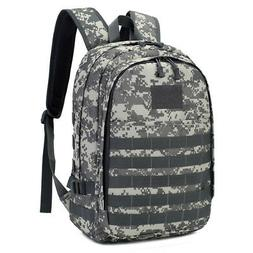 30L Tactical Hiking Backpack USB Laptop Bag Military Molle R