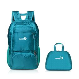 35L Outdoor Packable Travel Backpack Folding Daypack Camping