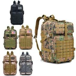 40L Military Tactical Backpack Army Assault Pack Waterproof