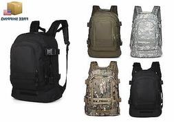 40l outdoor expandable tactical backpack military camping