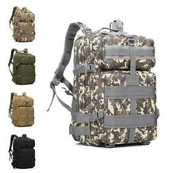 45L Military Tactical Assault Backpack Outdoor Molle Rucksac