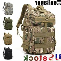 45L Military Tactical Molle Backpack Outdoor Sports Camping