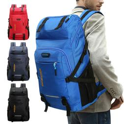 50L Waterproof Hiking Backpack Travel Daypack Sport School B