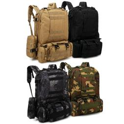 55l outdoor military molle tactical backpack rucksack