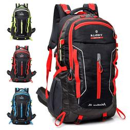 60L Outdoor Travel Hiking Backpack Laptop Compartment Waterp