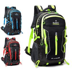60L Waterproof Camping Backpack Laptop Compartment Sport Tra