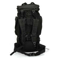 65L Sport Outdoor Military Rucksacks Tactical Molle Backpack
