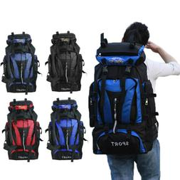 70L Waterproof Backpack Tactical Travel Hiking Camping Outdo