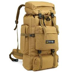Army Backpack 70L Large Capacity Waterproof Military Hike Tr