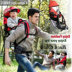 Baby Hiking Backpack Child Kid Toddler Carrier w/ Stand Sun/