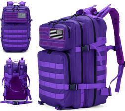 Backpack - 36L to 55L - Tactical, Security, Hiking, Cycling,