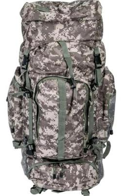 Heavy-Duty Camo Mountaineers Backpack, Mens Camping Hiking O