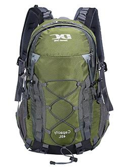 Diamond Candy Hiking Backpack Waterproof 40L Unisex Travel D