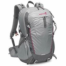 Hiking Daypacks 35L Unisex Backpack With Rain Cover  Sports