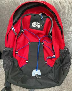 The North Face Jester Backpack Red/Black Hiking, School, Tra