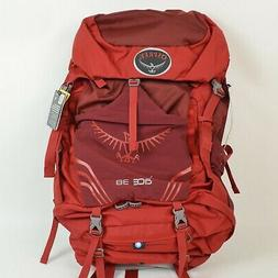 OSPREY Kids' ACE 38 Hiking Camping BACKPACK / Red OS