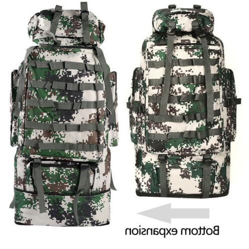 100L Outdoor Military Backpack Trekking Rucksack