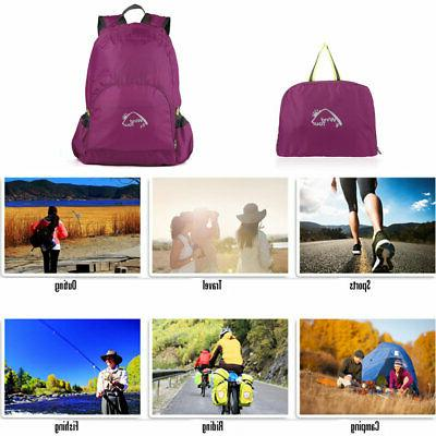 25L Camping Rucksack Shoulder Travel Bag Men Women