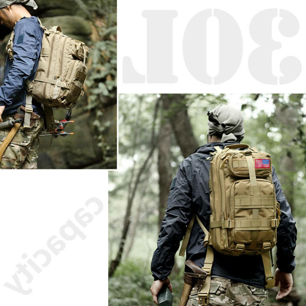 30L Military Backpack Hiking Camping Outdoor