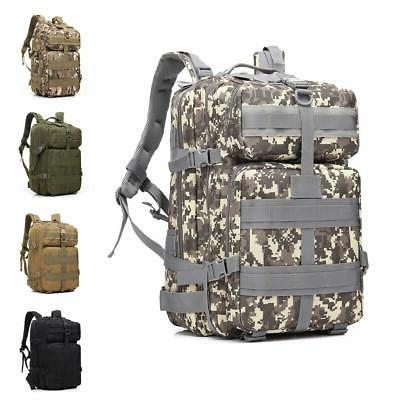 45l military tactical assault backpack outdoor molle