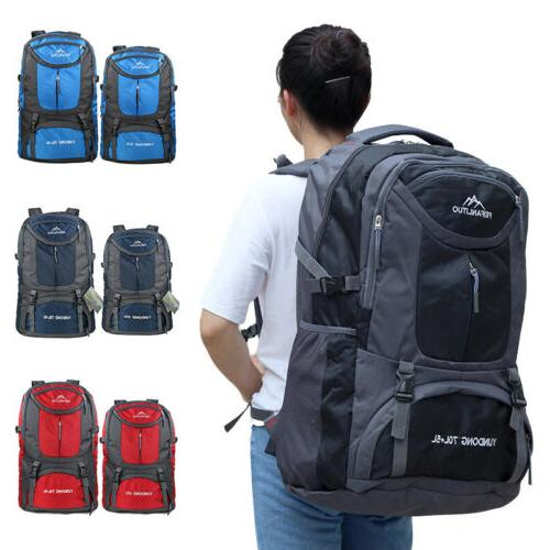 Hiking Backpack 65L/75L Travel Camping Breathable Waterproof