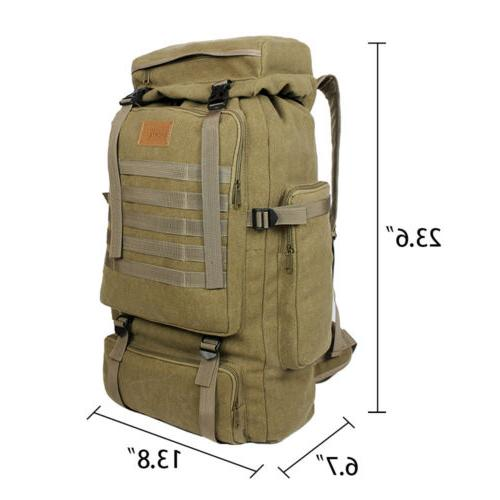 Men's Outdoor Hiking Trekking Backpack Military