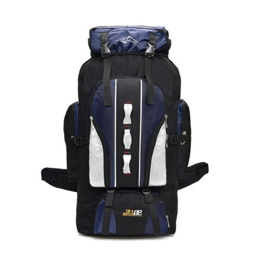 80L/100L Hiking Backpack Camping Travel