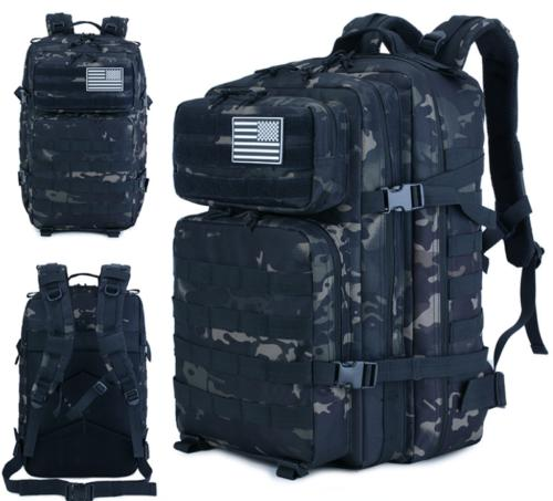 Backpack - 55L Hiking, Cycling, Multiple