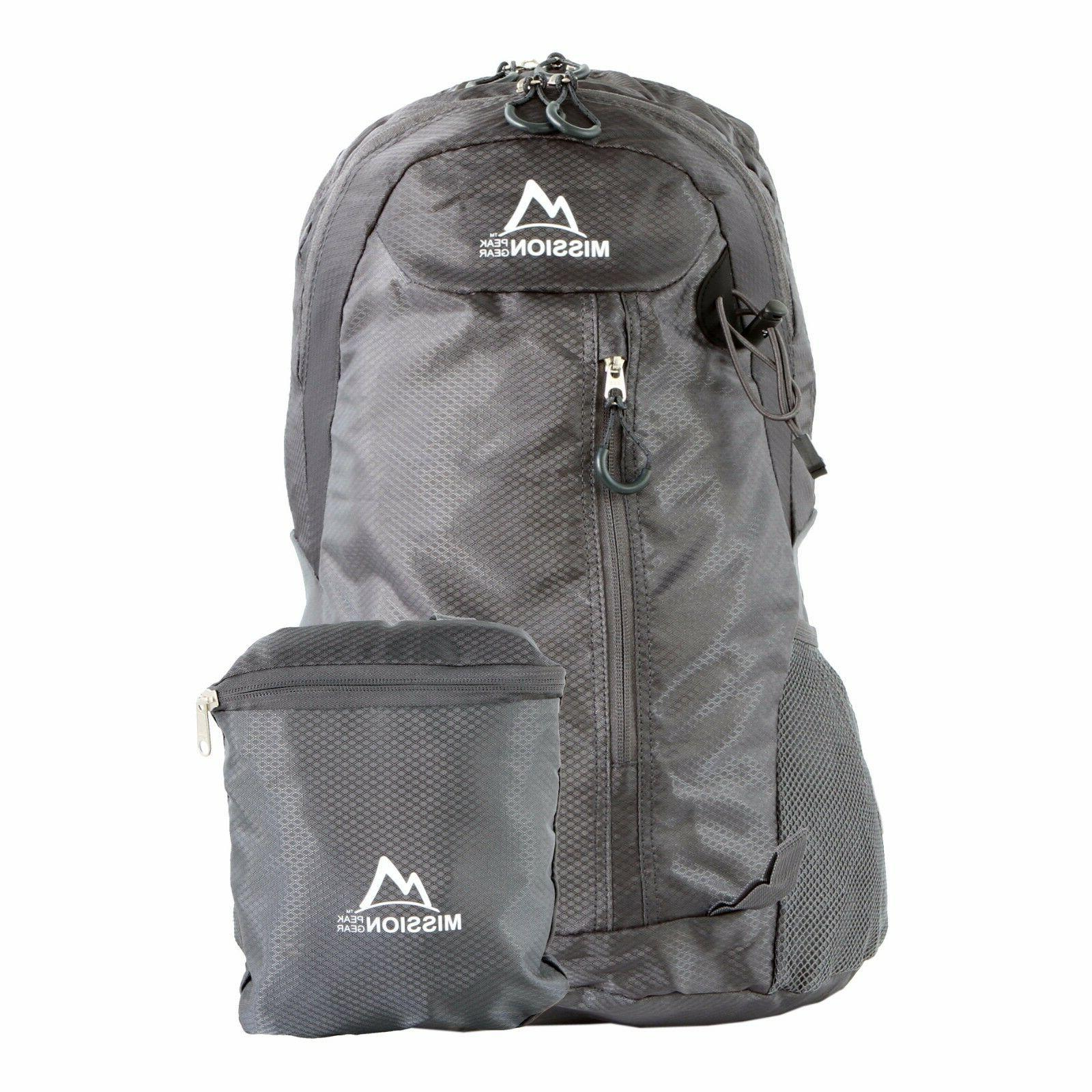 fast2100 30l foldable packable hiking backpack daypack