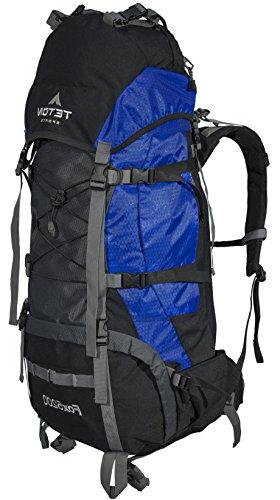 TETON Sports 5200 Internal Frame Backpack – Not Your Backpack; High-Performance Backpack for Hiking, Sewn-in Rain Cover;