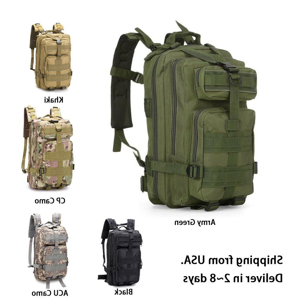 military tactical backpack daypack bag for hiking