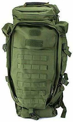 military tactical backpack rifles guns storage survival