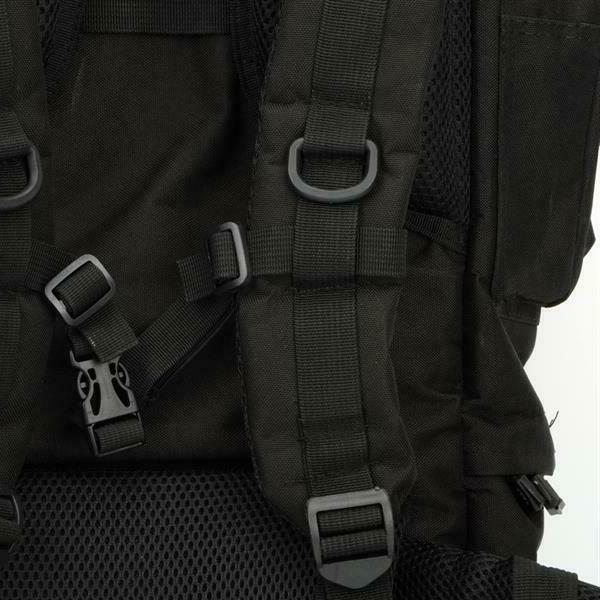 Military Large Outdoor Black 65L