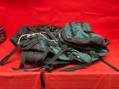 The Face Green Backpack - Size Large