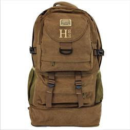Large mens hiking backpack, Military style