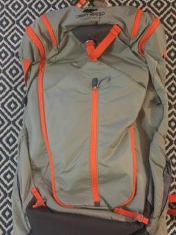 OZARK TRAIL New Lightweight Hiking Backpack 40 Liters Gray/O