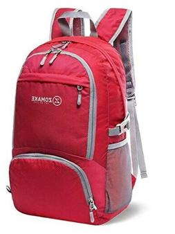 ZOMAKE Lightweight Packable Backpack Water Resistant Hiking