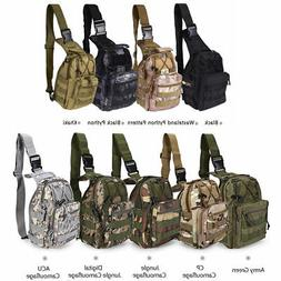 Military Tactical Rucksacks Camping Hiking Trekking Shoulder