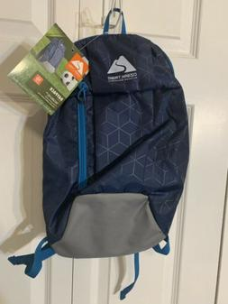 New Ozark Trail Hiking Lightweight Day Pack 10L Backpack Blu