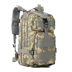 New outdoor sports camouflage backpack army fans Hiking Back