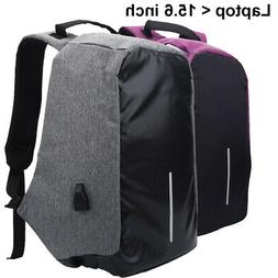 Oxford Fabric Travel Sports Backpack Hiking Durable USB Lapt