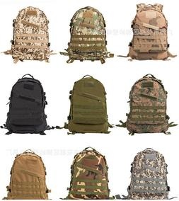 Unisex Men's Tactical Backpack Day Pack Hiking Trekking Camp