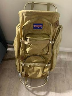 Vintage Jansport Large Nylon Hiking Backpack