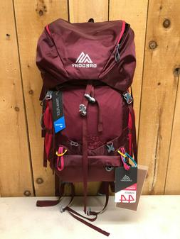 Gregory Women's Amber 44 Backpack Overnight Hiking Pack Pepp